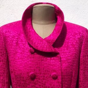 Rickie Freeman for Teri Jon Skirts - Vintage Magenta Skirt Suit